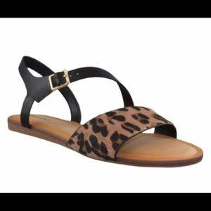 Aldo Leopard Sandals 7.5